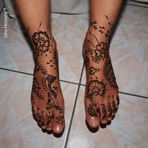 henne pied 1 mon tatouage au henn com. Black Bedroom Furniture Sets. Home Design Ideas